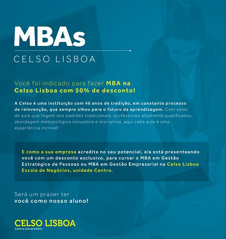 Folder Celso Lisboa